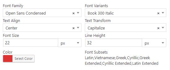 Wordpress Plugin Tooltip Fonts