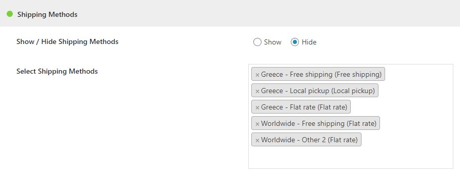 WooCommerce Visibility | Hide Products, Categories, Tags, Taxonomie, Prices by User Role - 4